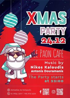 Hohoho X-MAS PARTY 24.12 Le Paon Cafe #xmas #events #hohoho #musik #mylife